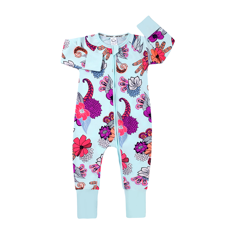 Toddler Girl Outfits,Newborn Kids Baby Girl Floral Print Romper Jumpsuit Tops Sunsuit Outfits,Nursery Receiving Blankets,White,90