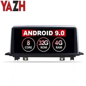 YAZH 10.25 8 Core Android 10.0 DVD Player GPS Navigation Multimedia System Bluetooth Used for BMW X5 E70 F15 X6 F16 2014-2017 image