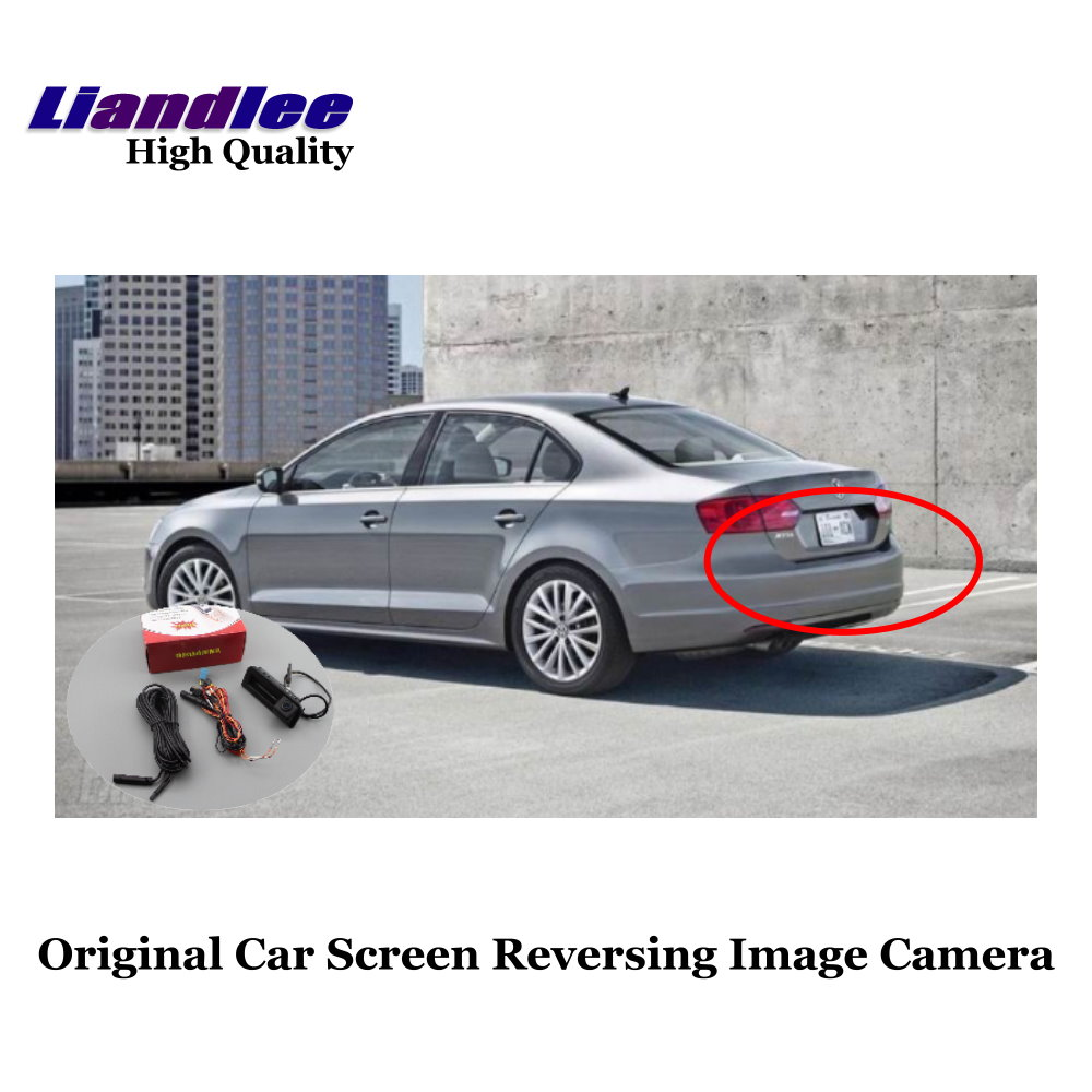 Liandlee For Volkswagen VW Bora IV 2019 Original Car Screen Upgrade Lossless Reversing Track Image Camera HD Night Vision in Vehicle Camera from Automobiles Motorcycles