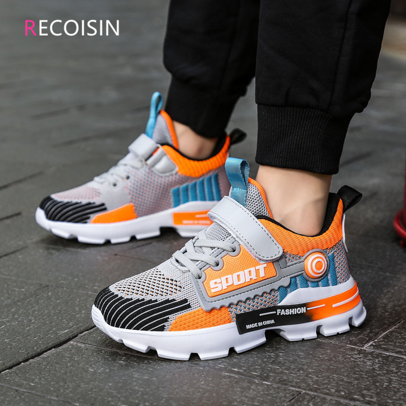 RECOISIN 2020 New Children Sports Shoes For Boys Sneakers Fashion Autumn Casual kids Shoes Boy Running Shoes Chaussure Enfant|Sneakers|   - AliExpress