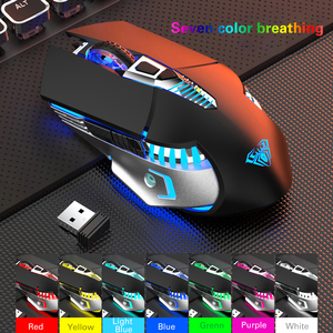 Image 5 - Rechargeable Bluetooth Wireless Gaming Mouse with Side Buttons 3 Modes (BT5.0, BT3.0 and 2.4G) Ergonomic Mice for PC Laptop
