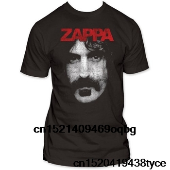 Fashion T Shirts Summer Straight 100% Cotton Impact Frank Zappa Photo Jersey Shirt - discount item  50% OFF Tops & Tees
