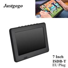 LEADSTAR ISDB-T 7 pouces lecteur de télévision couleur numérique Rechargeable écran TFT-LED prise ue