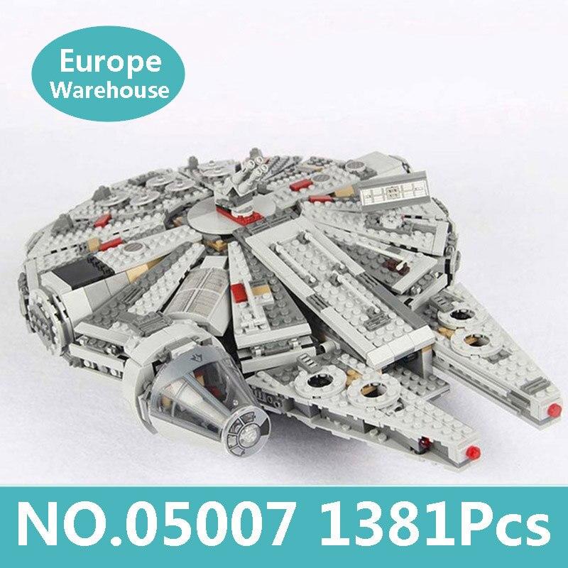 Rey ladrillos Lepinblocks 05132 Millennium Super Star destructor Falcon bloques de construcción Star Wars barco 75192 juguetes regalo estrella de la muerte-in Bloques from Juguetes y pasatiempos    3