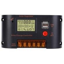 цены Solar Panel Regulator Photovoltaic Power Generation Controller 10A for Lead-Acid Battery Solar Charger