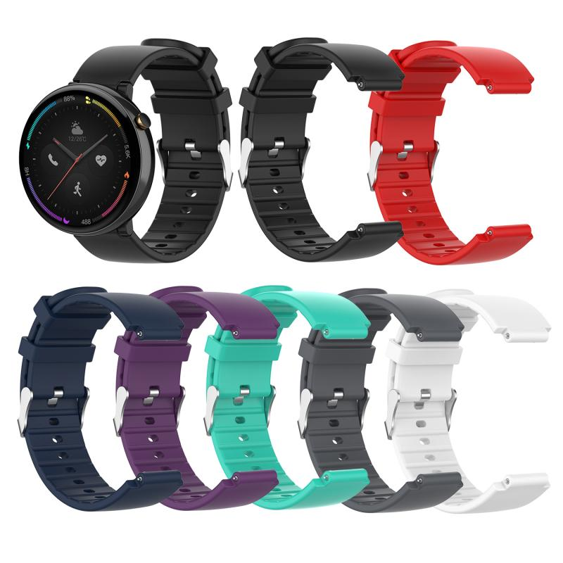 Watch Strap For Xiaomi Huami Amazfit Smart Watch 2 Sport silicone belt Bracelet wriststrap For Huami Amazfit 2 watch Accessories