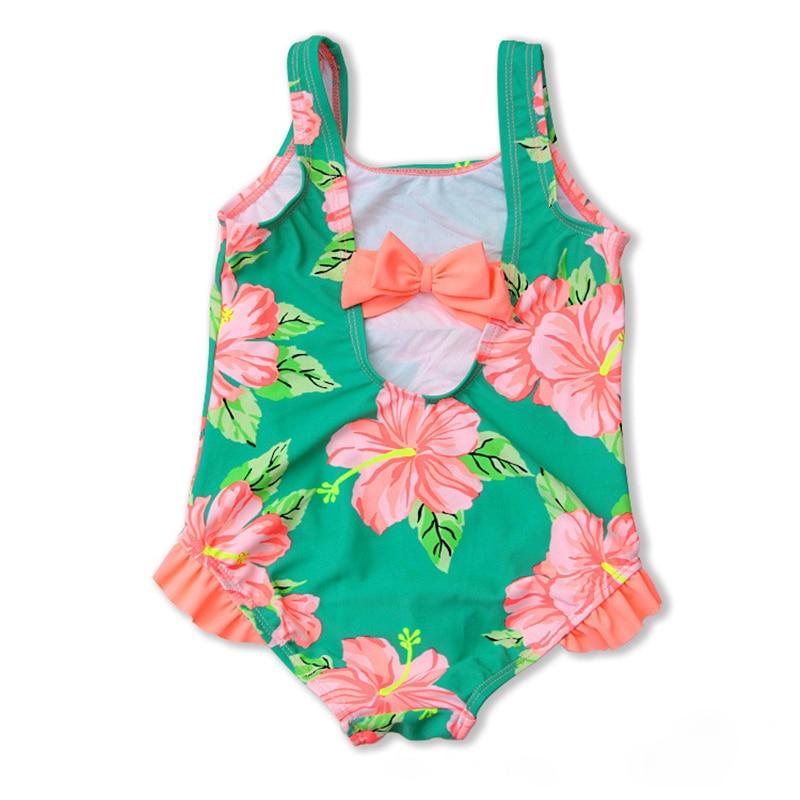 New Models 2 8 Y Baby Girl One Piece Swimsuit Children Swimwear Girls Bathing Suit Kids Summer Beach Swimming Wear in Children 39 s One Piece Suits from Sports amp Entertainment