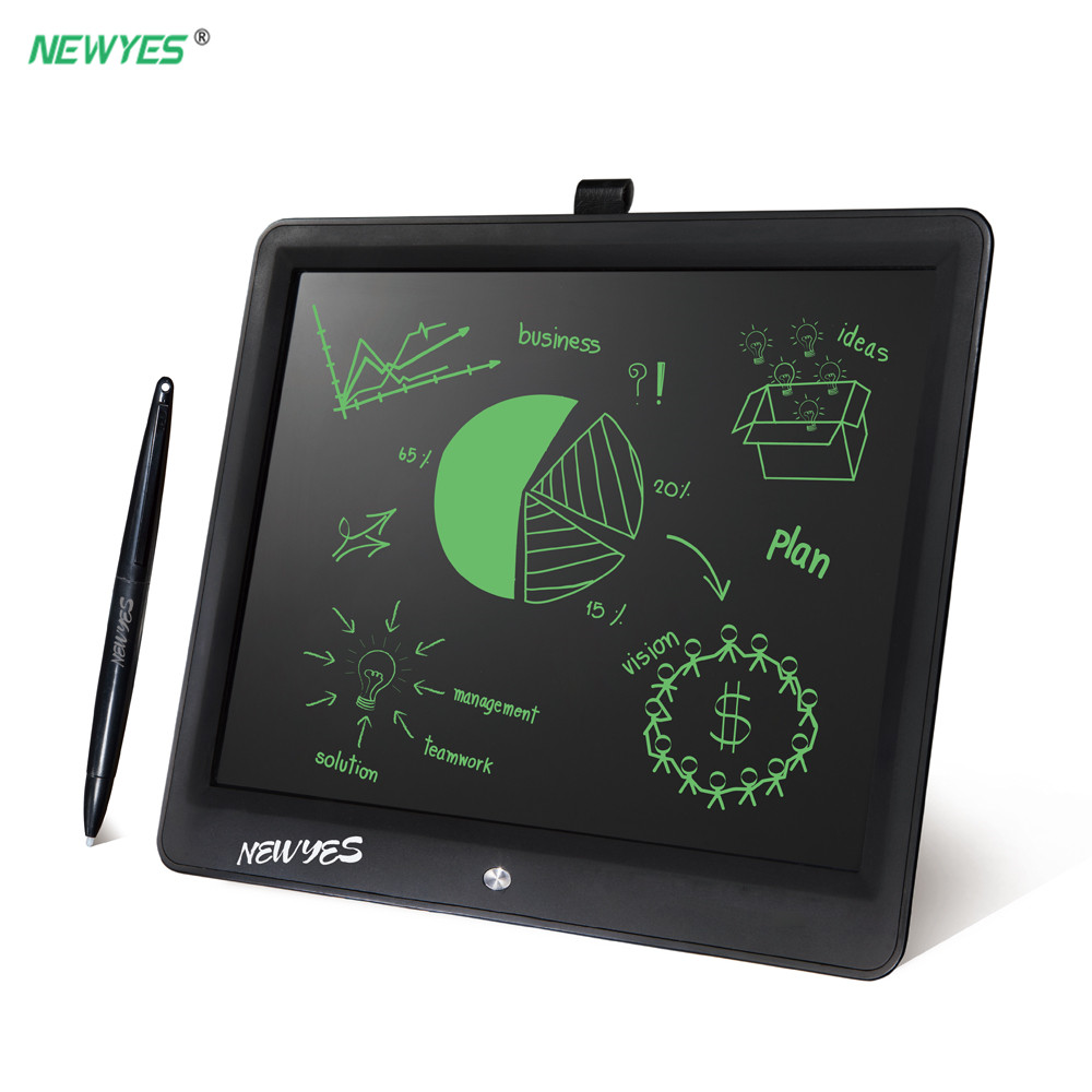 NEWYES 15 Inch LCD Writing Tablet Digital Notepad Electronic Doodle Board Handwriting Drawing Graphic Blackboard for Kids Adults