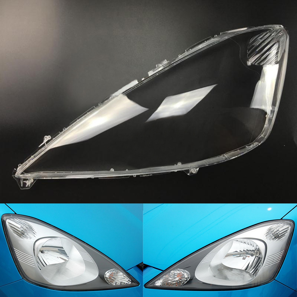Car Headlamp Lens  For Honda Fit / Jazz Hatchback 2008 2009 2010 2011  Car  Replacement  Lens Auto Shell Cover