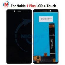Do wyświetlacza LCD Nokia 1 Plus montaż digitizera ekranu dotykowego wymiana Lcd Nicefix do wyświetlacza Nokia 1 Plus TA 1130/TA 1111