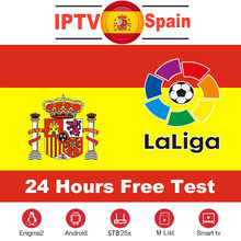 Spain IPTV Subscription 1 Year 300+ Full HD Spain Local Channels Live VOD Hot XXX for Android Box M3u Smart TV MAG Free Test(China)