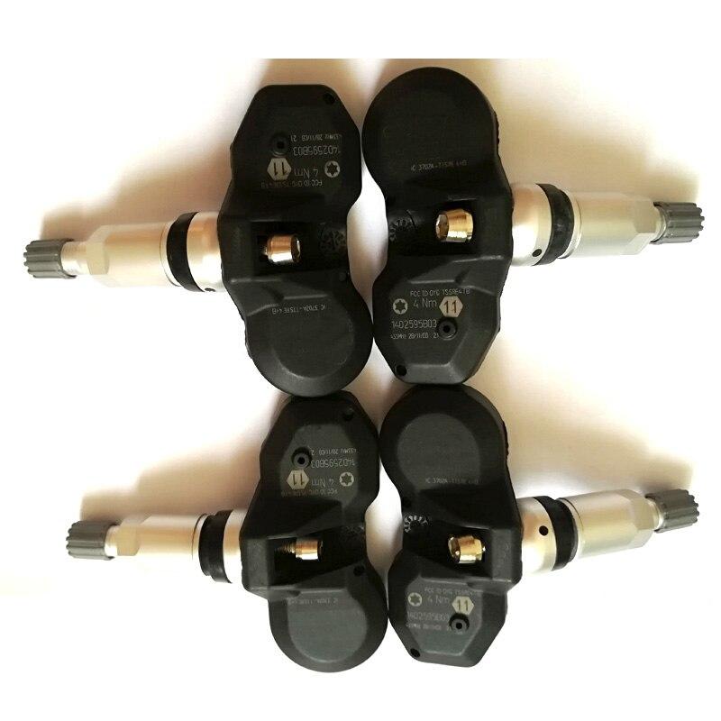 Датчик контроля давления в шинах TPMS 4D0907275A 315 МГц для Volkswagen Phaeton For Au-di A6, 4 шт.