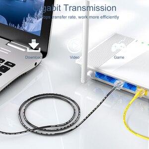 Image 2 - SAMZHE Cat6 Ethernet kablosu kedi 6 10Gbps ağ ince kablo için RJ45 yönlendirici TV kutusu ağ LAN kabloları