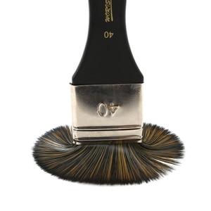 Image 2 - 6 Pcs Artist Flat Paint Brush Large Wash Brushes Set for Varnishes Acrylic Painting Watercolor Wood Wall Furniture Brush Cleaner