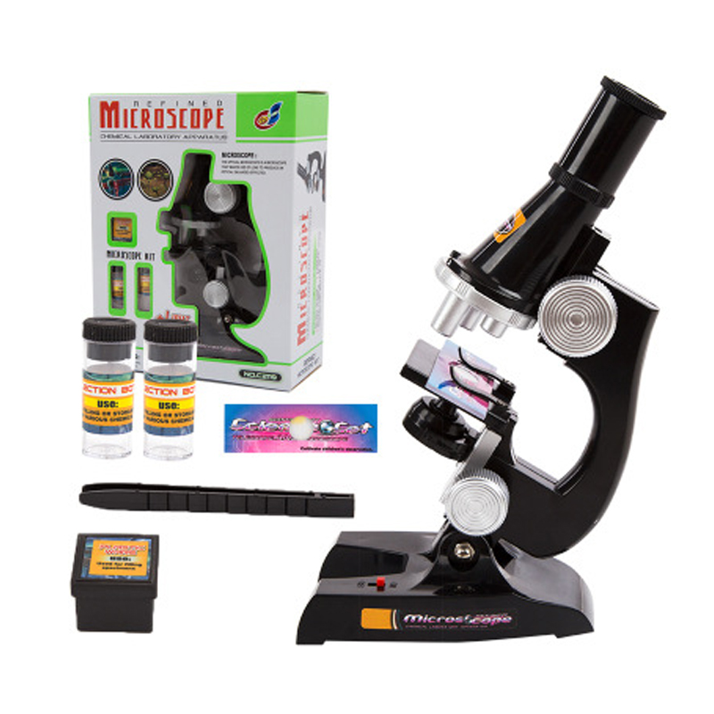 Science Microscope Children Science Discovery Puzzle Toys Early Education 1 PC