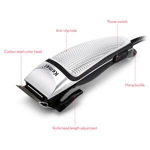 Image 5 - Profesyonel saç kesme makinesi erkekler elektrikli saç düzeltici ev düşük gürültü saç kesimi tıraş makinesi 220 240V Styling aracı 40D