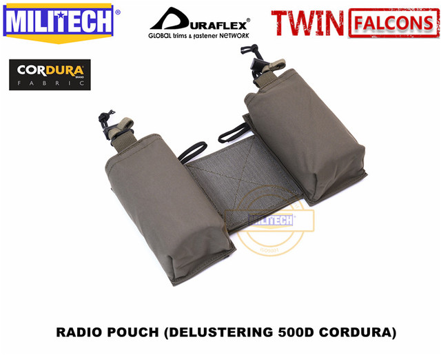 Chassis TW MFC MK3 Chest Rig Quadruple Mag Pouch Tool Insert Pouch