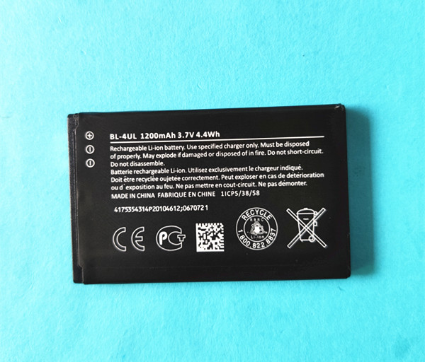 NEW <font><b>BL</b></font>-4UL 4UL Li-ion Mobile Phone Battery for Nokia Asha <font><b>225</b></font> Asha225 RM-1011 RM-1126 RM 1011 1126 <font><b>BL</b></font> 4UL 1200mAh image