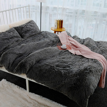 Winter Super Soft Warm Throw Blankets 200x230cm Oversize Long Shaggy Fur Faux Coral Blanket Bed Sofa Cover Bedspread