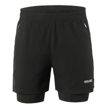 Running-Shorts Longer-Liner Exercise Active-Training Quick-Drying Jogging Men's 2-In-1
