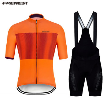 Frenesi 2020 Bike Summer Short Sleeve Pro Team Euro sport Boutique bicycle Race race ciclismo cycle wear mtb cycling Jersey