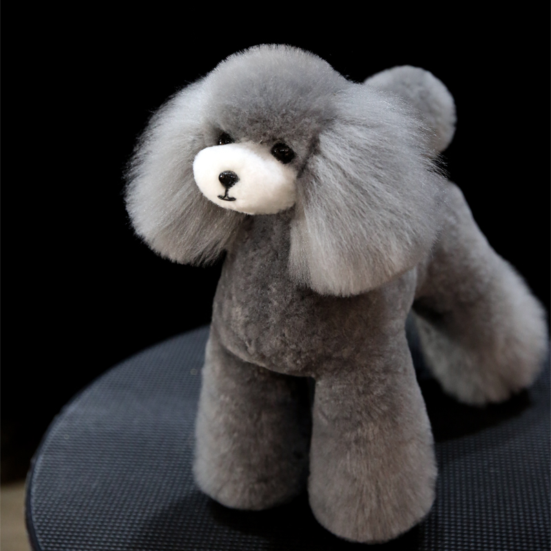 Free Shipping  Model Dog Grooming Wig Teddy Bear Wholebody Wig (body Wig Only ,without Dog Dummy )