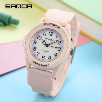 wrist watch women quartz clock brand fashion ulzzang watch blue pink colorful white ladies sport waterproof casual free shiping Wrist Watches Women Brand Fashion White Pink Green Blue Purple Ladies Waterproof Casual Cute Kawaii Korean Young Ulzzang Watch