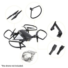 Heighten Landing Gear 5332 Propellers Protect Guards Camera Lens Protective Cover Accessories Combo for DJI Mavic Air RC Drone цена 2017