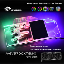 Heatsink Graphics-Card Water-Block Bykski Gaming-Oc Radeon A-GV5700XTGM-X Gigabyte AMD