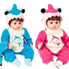Кукла реборн jingxin prinses 45 см Мягкая силиконовая виниловая
