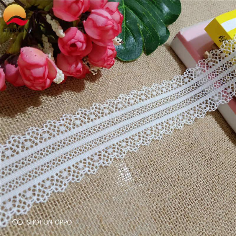 * 5cm s2153-1 biała koronkowa dekoracja do szycia odzież suknia ślubna dekoracji z szwajcarski koronki tkaniny
