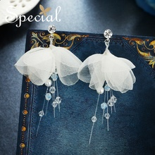 Special925 Silver Needle ear Nail earrings without ear holes ear clip lined with Jasmine and Love Poems люстра love poems