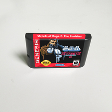 Punisher In Streets of Rage 2   16 Bit MD Game Card for Sega Megadrive Genesis Video Game Console Cartridge