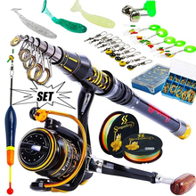 Sougayilang 1 5-2 7m Fishing Rod and DC3000 Series Spinning Reel Combo with Fishing Lure Line Float Fishing Tackle cheap Rod+Reel+Line Aluminium Alloy 1 8 m Ocean Boat Fishing Ocean Rock Fshing Ocean Beach Fishing LAKE River Reservoir Pond stream