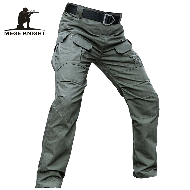 Mege Brand Men's Tactical Pants Camouflage Military Army Combat Trousers Casual Cargo Pants Ripstop Dropshipping Factory Direct
