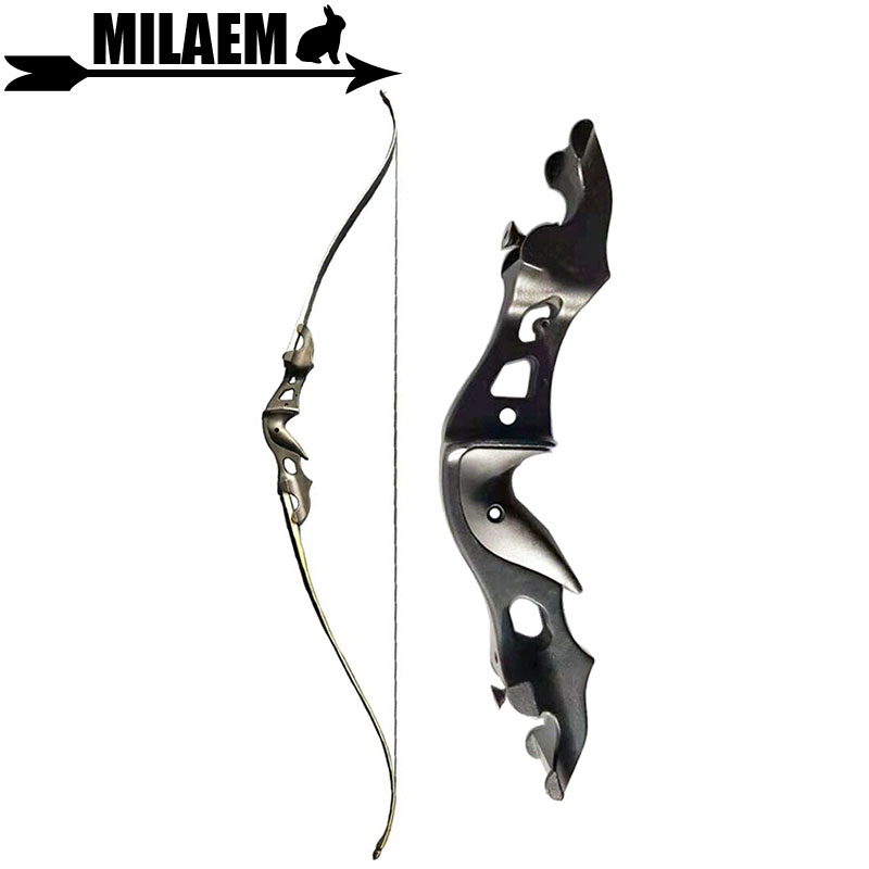 58inch Archery Takerown Recurve Bow Metal Riser 20 25 30 35 40 45 50 55lbs Right Hand Target Shooting Bow And Arrow Accessories
