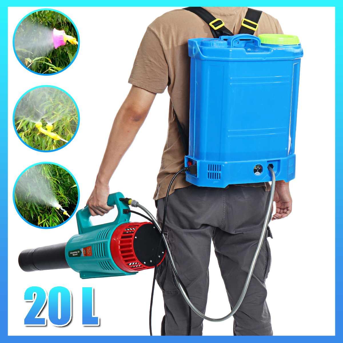 Agricultural Pesticide Spray Equipment Backpack Garden Intelligent Sprayer Knapsack 20 Litre 12v 220v Battery Electric ULV Foger-0