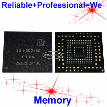 SDIN5D2-8G BGA153Ball EMMC 8GB pamięć na telefony komórkowe nowe oryginalne i używane piłki lutowane testowanie pomyślne tanie i dobre opinie MSMWTRPM CN (pochodzenie) Metal