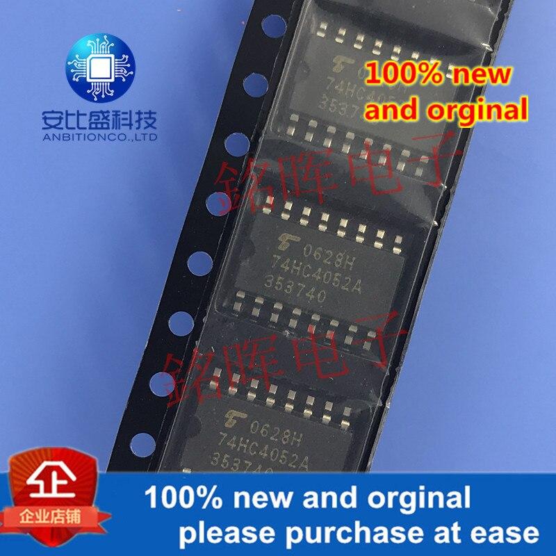 10 шт. 100% новый и оригинальный TC74HC4052AF 74HC4052A лапками углублением SOP-16 5,2 MM в наличии на складе