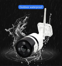 N_eye IP Camera 3MP Waterproof Bullet Camera WiFi 360 Security IR Vision Wireless IP Camera outdoor wifi cctv security camera metal adjustable pole column mount loops bracket ip camera for 3g 4g wifi bullet camera accessories cctv security camera bracket
