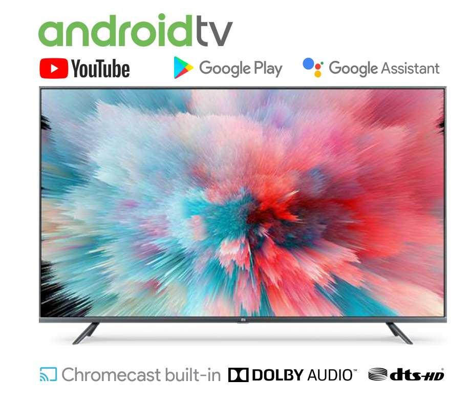 Xiao mi Smart TV EU 55 pouces WIFI bluetooth 4.2 Android 9.0 commande vocale DVB-T2/C 1GB RAM 8GB ROM 5G 4K édition internationale