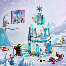 Dream Castle Snow World Elsa Ice Castle Princess Anna Set Model Building Blocks Gift Toys Compatible Lepining Friends платье dream world dream world mp002xw1hhup