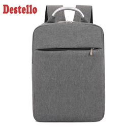 Fashion unicorn backpack mens laptop backpack computer solid male school backpacks high-capacity business traveling bags