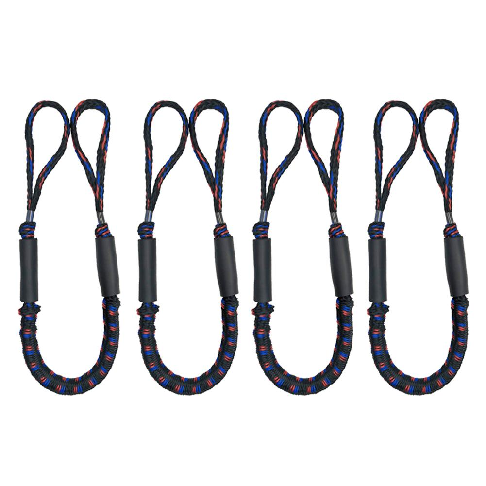 Boating Ropes Boat Dock Lines Mooring Rope Bungee Cords For Drifting Jet Ski Surfboard Kayak Pontoon Rowing Boats Accessories