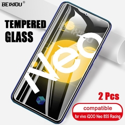 На Алиэкспресс купить стекло для смартфона 2 pcs full tempered glass for vivo iqoo neo 855 racing screen protector tempered for vivo iqoo neo 855 racing protective film