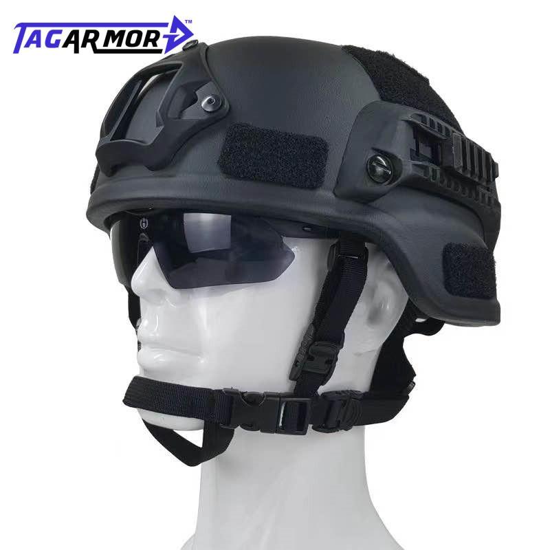 Tactical Bullet Proof Helmet MICH 2000 Military Ballistic Helmet NIJ IIIA Aramid Ballistic Combat Helmet