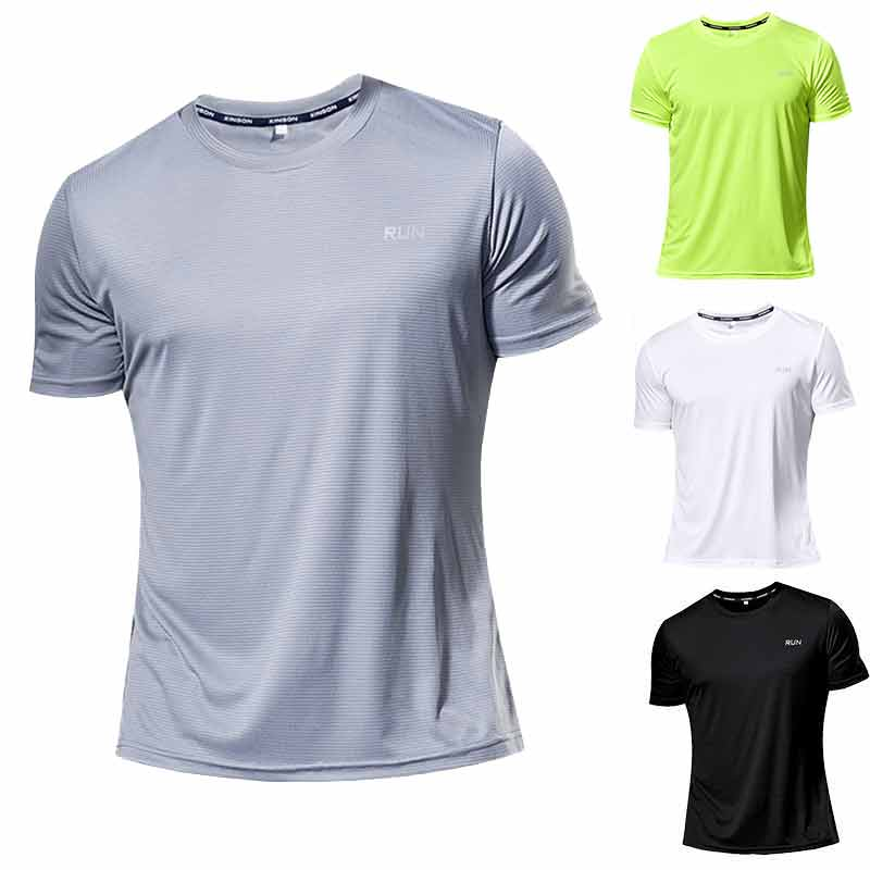 Permalink to 10 Pieces High quality Jersey Men Kids Running T Shirt Quick Dry Fitness Shirt Training Exercise Clothes Gym Sports Shirts Tops