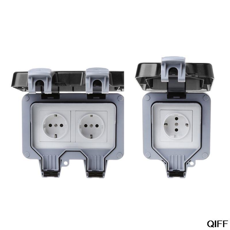 Toma de corriente IP66 a prueba de polvo y clima estándar de la UE 5 de agosto Cable de alimentación de referencia dorada de CARDAS OFC, Cable de alimentación EU Schuko AC, Figura 8 Oyaide P-079E/P-079/C-079, conector MK Vinshle