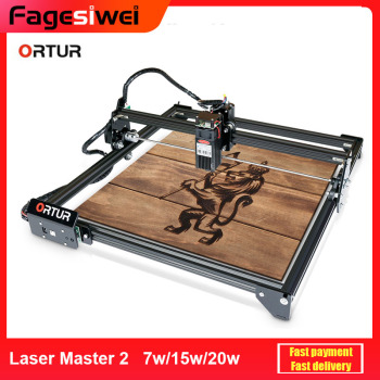 ORTUR Laser Master 2 Laser Engraving Cutting Machine With 32-Bit Motherboard 7w 15w 20w Laser Printer CNC Router
