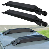 2 Pcs/set Auto Soft Foldable Luggage Baggage Roof Frame General Roof Rack Automotive Accessories For Suv Cars Rack Load 60kgs